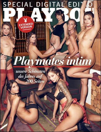 Playboy Germany Special Digital Edition - Playmates Intim (Extended Version) - 2019